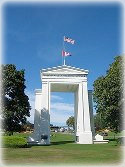 Peace Arch from US